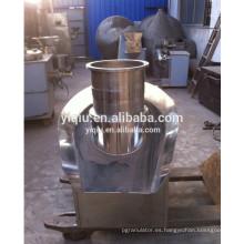 Productos farmacéuticos extrusión pelleting máquina