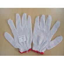 Gants de travail légers en coton blanc, bleu, 24 g