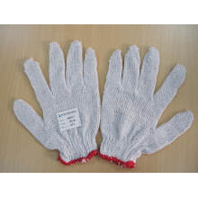 24G Bleach White Coton Glove Lightweight Work Gloves
