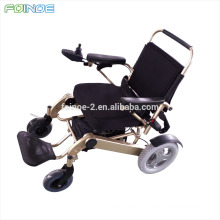 CE approved Foldable portable power wheelchair