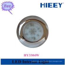 Remolque usado luz interior led interior luz redonda para vehículos