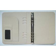 Pasta simples do plutônio, pasta (LD015) Organizador, caso do caderno