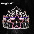 4in Heart Crystal Pageant Crowns