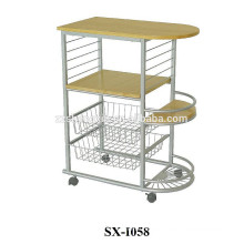 Removable Wood Metal Steel Pipe Trolley for Sale