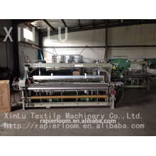 china rapier loom cloth weaving machine power loom machine price