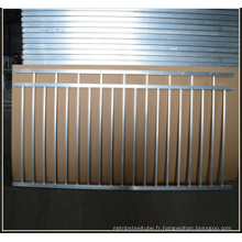Panneaux de clôture pour clôture de piscine en aluminium