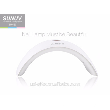 Manufacture hot sale SUNUV SUN9X gel uv led cordless nail lamp with 15pcs beads 24w nail dryer for curing hands and feet