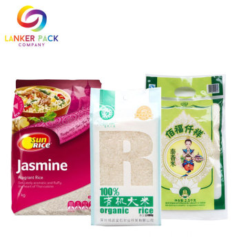 BRC ซิป Standing Rice Paper Pouches