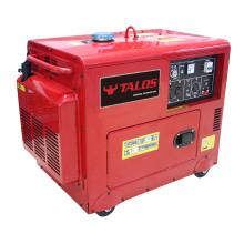 Générateur diesel silencieux de 5 kVA (DG6500ES)