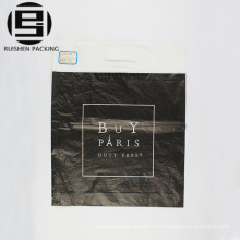 Черное пятно ручки HDPE пластиковые хозяйственная сумка