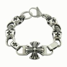 Indien-Art-Schädel-Mann-Armband
