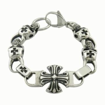 Bracelet homme Inde Style Skull