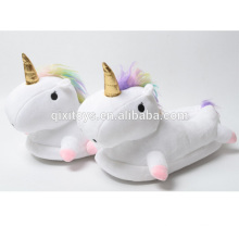 Creative Design Comfortable Plush Unicorn Shoes for Women