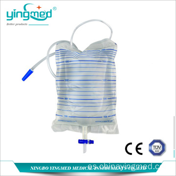 Bolsa de drenaje urinario desechable de 2000 ml