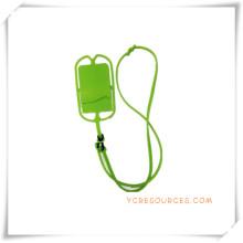 Suporte do telefone celular para presentes relativos à promoção, estilingue caso para o telefone móvel