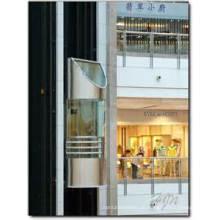 Sicher 1.75m / S Glaspanoramischer Aufzug