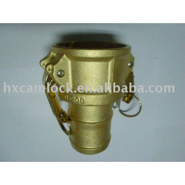Brass quick couplings (type C)