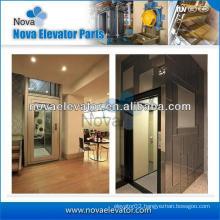 Automatic 0.5M/S Home Lift Elevators , 400KG Small Elevators for Homes, Automotive Indoor Villa Lift