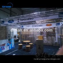 Projeto de exposição feito sob encomenda portátil da feira profissional da cabine de exposição de SHANGHAI para a mostra da exhbition