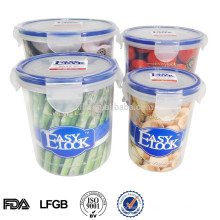 Plastic Canister Set