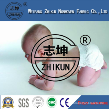 100% Polypropylene Super Soft and Hydrophilic Nonwoven Fabric for Disposable Baby Diaper