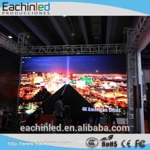 P4 fotos de alumínio fundido full color display led de aluguer p4 levou painel de tela para exibição de vídeo hd e ultra fino