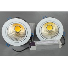 Garantie de 3 ans COB LED Downlight de plafond (10W / 20W / 30W)