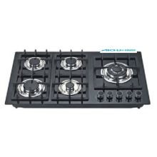 Electric Ignition 5 Burners Gas Hob
