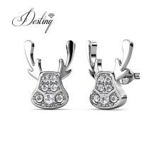 Factory Price Trendy Alloy Cute Animal Stud Earrings for Girl