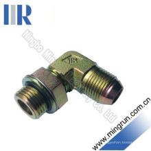 90 локоть JIS газ / наружная резьба BSP уплотнительное кольцо Регулируемый адаптер гидравлический фитинг (1SG9)