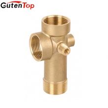 Lb Guten top 5 maneira bomba de bronze assoriesbrass 5 way encaixe de tubulação para bomba de água