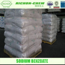 Alibaba China Fornecedor Manufacturing Chemical Aditivos SODIUM BENZOATE 99.5MIN.