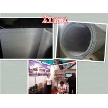 Fabrication de fil d'acier inoxydable 316 / tissu d'acier inoxydable de Ss 316