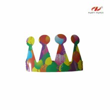 Birthday Party Paper Hats With OEM For Children
