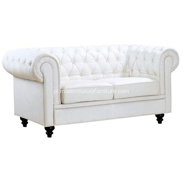 Salon skórzana sofa Chesterfield Two Seater