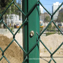 Galvanized Diamond Wire Mesh Fence for Protection Fence