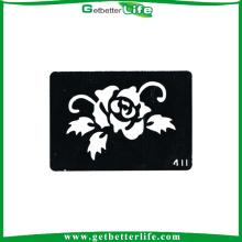 OEM & ODM do Glitter por atacado disponível estêncis do tatuagem