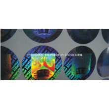 Wholesale High Quality Warranty Hologram Label / Hologram Stickers / Custom