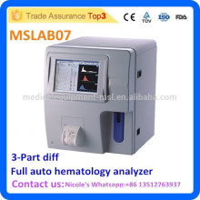 Hospital Full Blood count machine MSLAB07i, full auto 3-part Differentiation hematology Analyzer