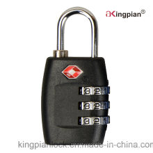 3 Digit Tsa Travel Pad Lock for Luggage and Bag