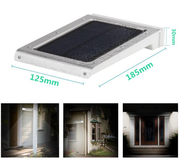SI-SL025 solar outdoor motion sensor light