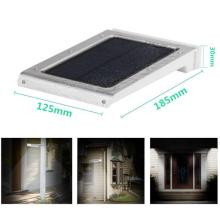 IP65 walltype solar powered outdoor lighting