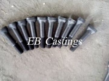 40Cr High Strength Grade 8.8 Bolts for Mill Liners EB001