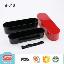 o melhor preço 2 coloca o recipiente plástico da lancheira portátil das crianças para o alimento