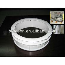 Machine de soudure en plastique de plat chaud pour l'anneau d'équilibre de machine à laver / machine de soudure d'anneau d'équilibre de rondelle
