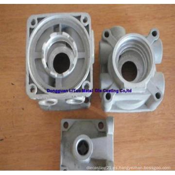 Aleación de aluminio pieza de fundición para caja del motor