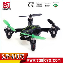 Hubsan X4 H107C 2.4G 4CH RC Helicóptero Quadcopter con Cámara RTF + Transmisor + Batería Mini Drones Control Remoto Juguetes SJY-H107C