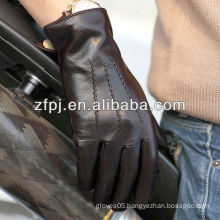Wolesales men lamb wearing leather gloves
