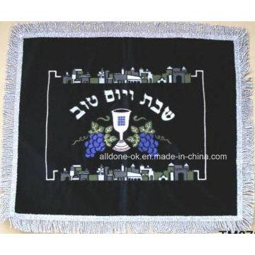Bordados bordados judia challah tampa judaica suprimentos produtos pão bíblia