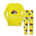Los pijamas de los niños al por mayor fijan pijamas de la Navidad de los niños de la ropa de noche